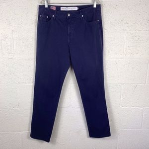 Fabrizio Gianni Jeans Sz 14 Navy Blue Chinos Pants